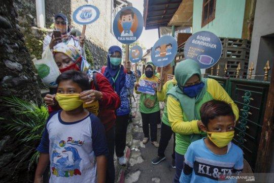 Sosialisasi gerakan 3 M di Bogor