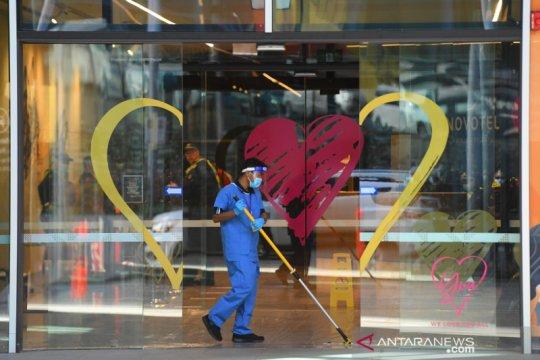 Victoria Australia pertimbangkan masker N95 untuk hotel karantina