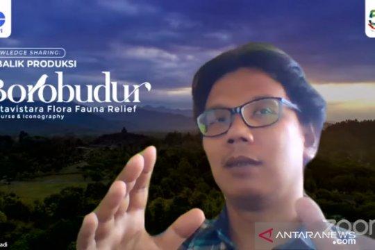 52 spesies dan famili satwa teridentifikasi di relief Candi Borobudur