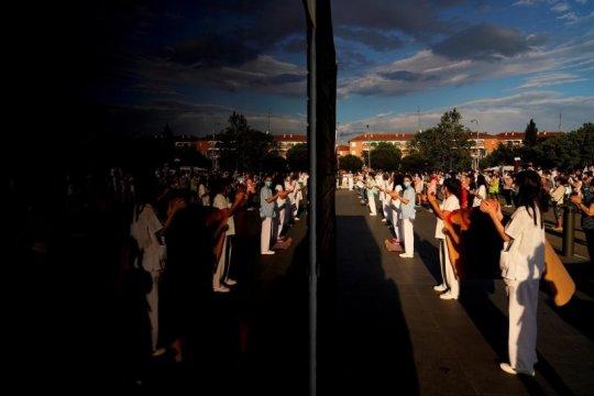 """Jadi area terparah wabah COVID-19 di Eropa, Madrid akan """"lockdown"""""""