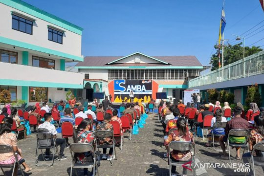 Samba Pancasila Sakti IKIP BU diikuti atlet peraih medali SEA Games
