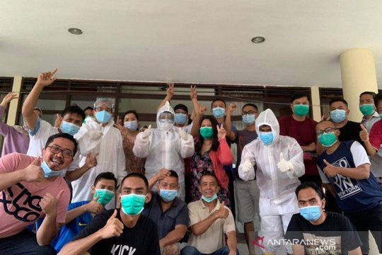 37 Karyawan BRI di Padang sembuh dari COVID-19