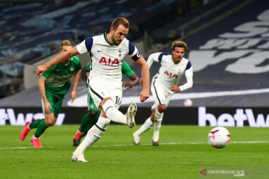 Tottenham menang 7-2 atas Maccabi untuk meluncur ke fase grup