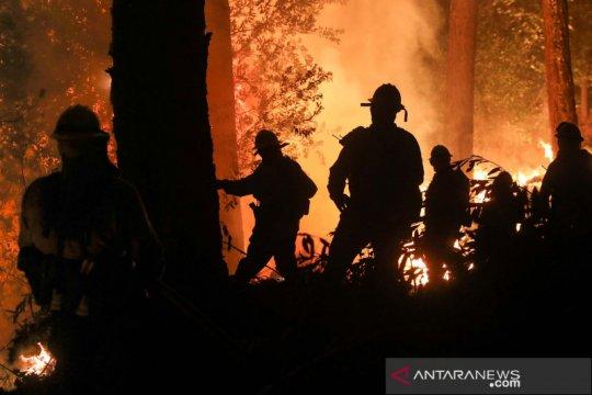 Kebakaran di California belum bisa dipadamkan