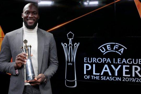 Romelu Lukaku dinobatkan jadi pemain terbaik Liga Europa