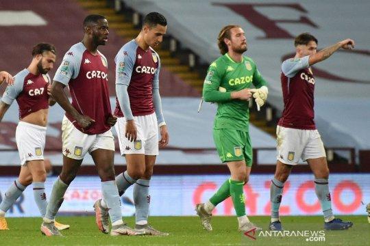 Villa disingkirkan Stoke di 16 besar Piala Liga