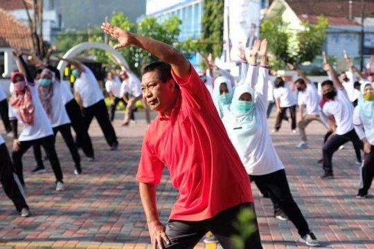 Wali Kota Magelang ingatkan tenaga kesehatan RSUD Tidar jaga imunitas