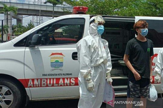 Seorang tahanan Polrestabes Palembang positif COVID-19