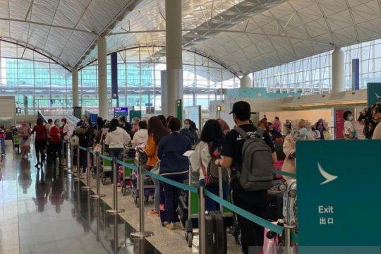 91 ABK dan PMI dipulangkan dari Hong Kong dan Makau