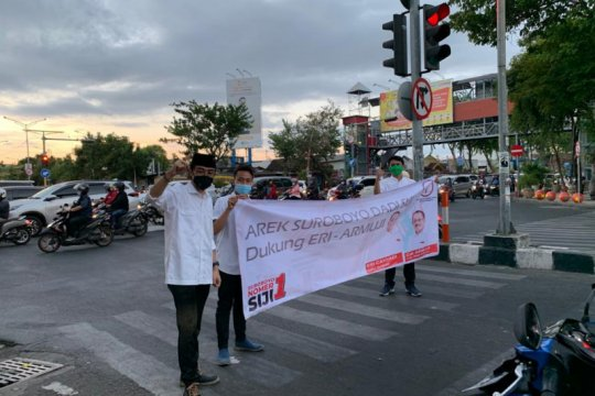 TMP Surabaya gelar aksi simpatik tolak politik uang
