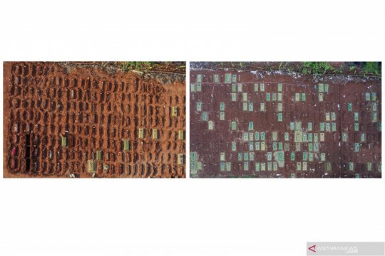 DPHK DKI sebut sudah 13.300 jenazah dikubur dengan protokol COVID-19