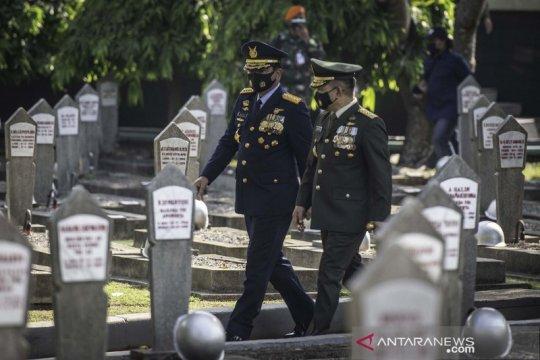 Ziarah nasional di TMP Kalibata jelang HUT TNI ke-75