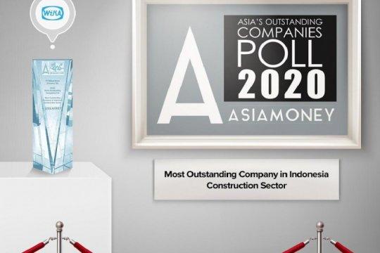 WIKA dinobatkan jadi kontraktor terbaik di Indonesia