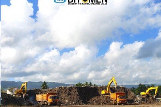 WIKA Aspal sukses melakukan ekspor 50.000 MT Buton Rock Asphalt ke Tiongkok