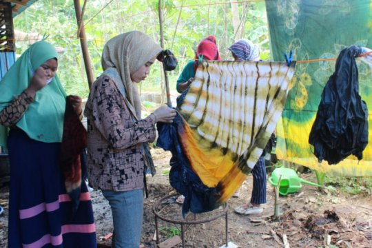 BRG berdayakan pengrajin kain Sasirangan di Kalsel