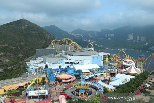 Ocean Park Hong Kong dibuka, Menara Kuning Wuhan jadi wisata malam