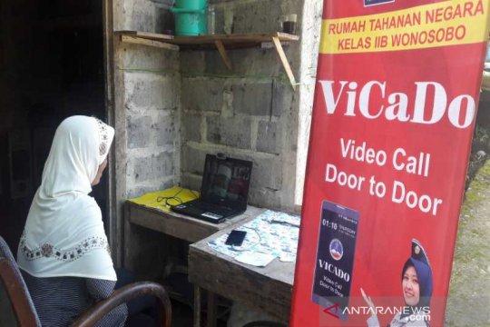 """Rutan Wonosobo fasilitasi """"video call"""" gratis napi dengan keluarga"""