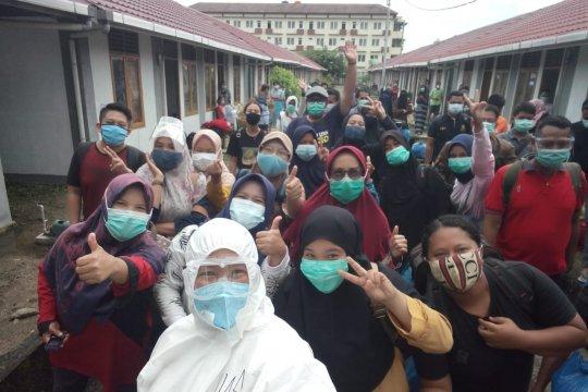 59 pasien COVID-19 di Perumahan Nelayan Padang sembuh