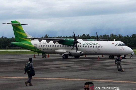 Citilink layani penerbangan charter perdana ke Bandara Nagan Raya Aceh
