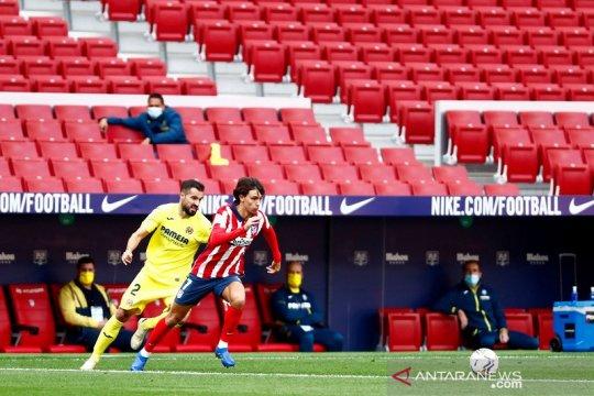 Atletico main nirgol lagi, berbagi poin dengan Villarreal