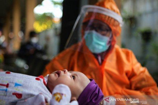 Seorang bayi berusia dua hari positif COVID-19 di Tarakan