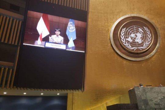 Menlu RI: penghapusan total senjata nuklir untuk perdamaian, keamanan