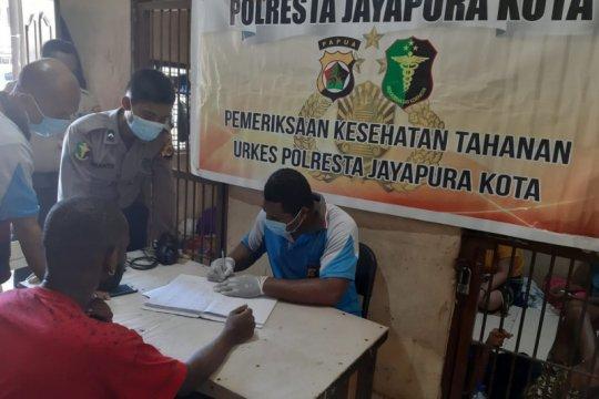 Urkes Polresta Jayapura Kota cek kondisi kesehatan tahanan