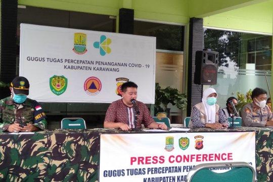 Kian tinggi, positif COVID-19 di Karawang-Jabar capai 793 kasus