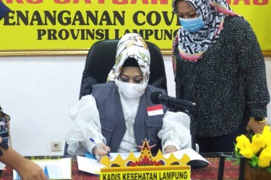 Angka kesembuhan COVID-19 di Lampung capai 73 persen
