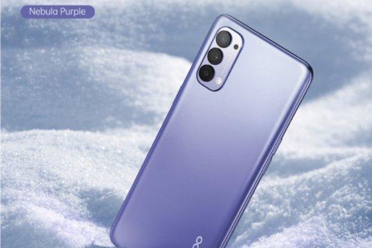 Oppo perkenalkan Reno4 warna Nebula Purple