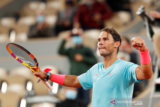 Tenis French Open: Nadal ke babak keempat setelah kalahkan Travaglia
