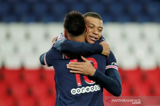 PSG konfirmasi buka pembicaraan kontrak baru dengan Mbappe dan Neymar