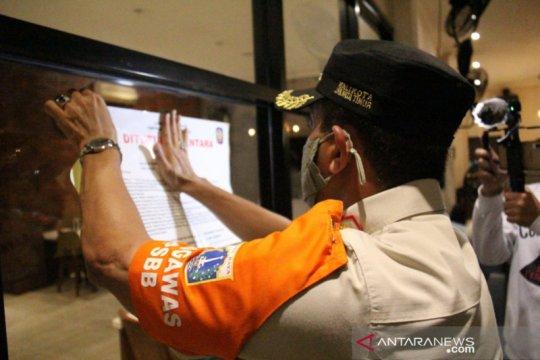 40 tempat usaha di Jaktim ditutup sementara karena langgar PSBB