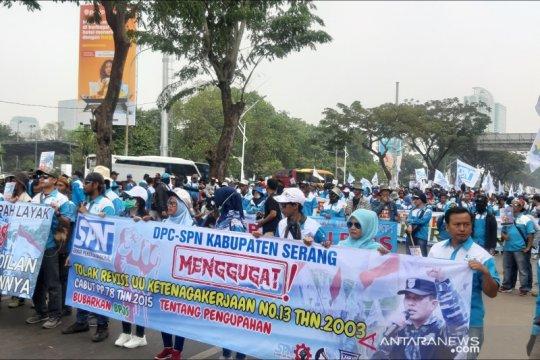 Libatkan 2 juta buruh, KSPI: Demo digelar serentak di Indonesia