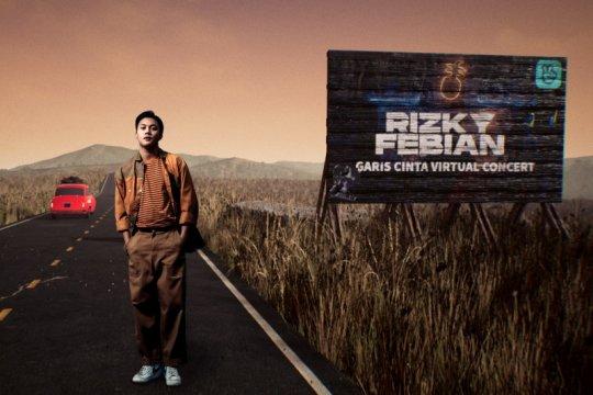 Rizky Febian buat konser virtual, teknologinya sama dengan SuperM