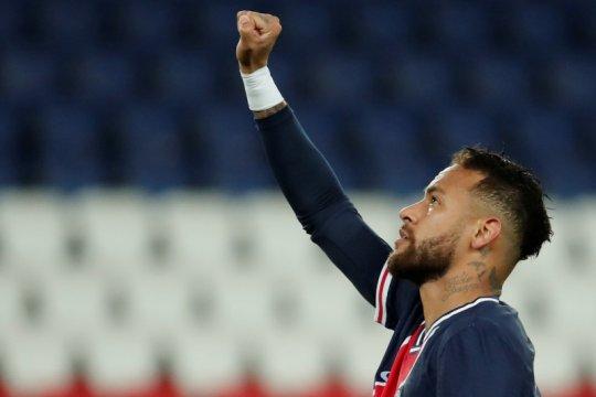 Neymar cetak gol pertama musim ini ketika PSG bantai Angers 6-1