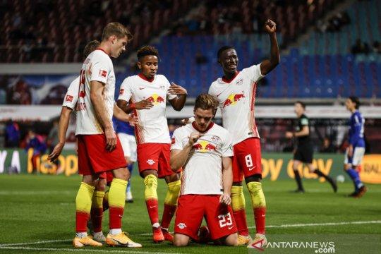 Klasemen Liga Jerman, Leipzig dan Frankfurt huni dua posisi teratas