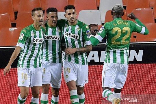 Klasemen Liga Spanyol: Betis di pucuk gantikan Villarreal dan Sociedad