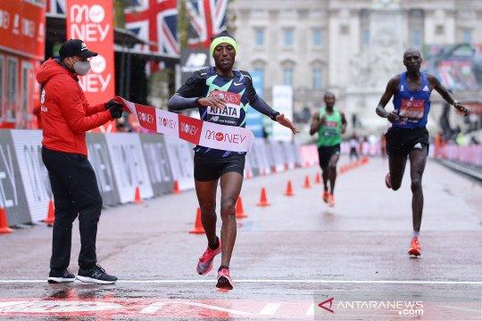 London Marathon virtual 2021 diproyeksikan diikuti 100.000 pelari