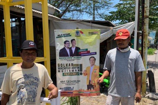 Golkar berharap Bawaslu Surabaya adil menertibkan APK paslon pilkada