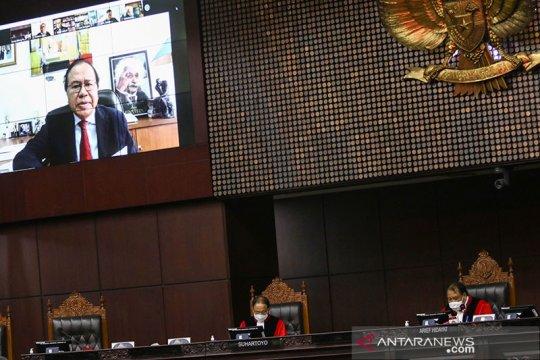 MK segera bahas kelanjutan gugatan Rizal terkait ambang batas presiden