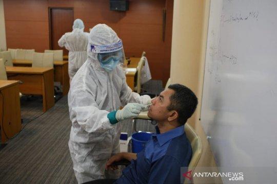 DPRD Sumut kembali gelar tes usap COVID-19