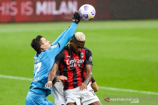 AC Milan kalahkan Spezia, Rossoneri tak terkalahkan 19 laga