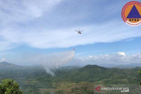 Kebakaran terjadi di Taman Hutan Raya Sultan Adam Banjar Kalsel