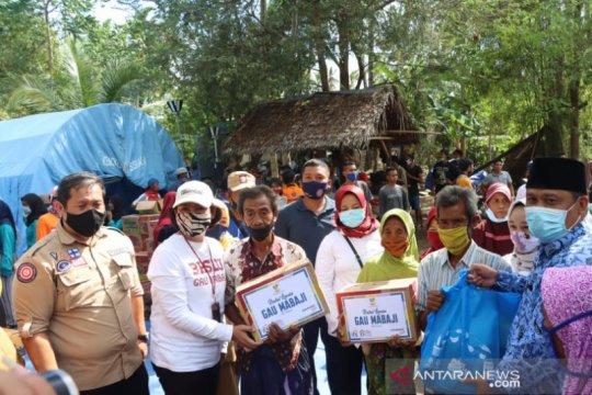 Kemensos bantu korban kebakaran rumah di Lombok Utara