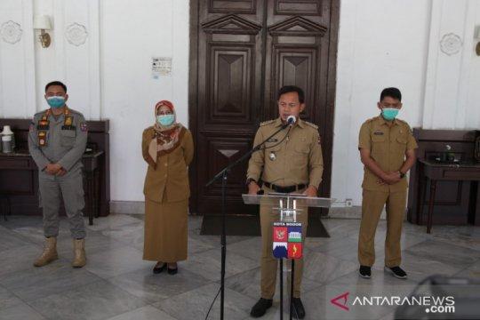 Kota Bogor masih zona merah karena kasus positif meningkat 15 persen