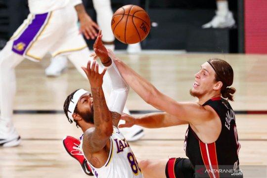 NBA: Miami Heat perkecil kekalahan dari LA Lakers jadi 1-2