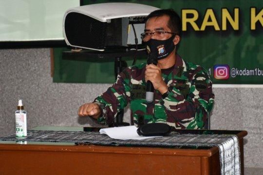 Kapendam I/BB: HUT TNI semakin meneguhkan TMMD pengabdian untuk negeri