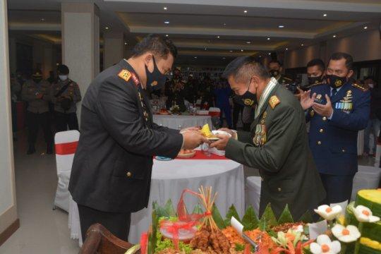 Pangdam Udayana harap HUT ke-75 TNI tetap tingkatkan sinergi TNI-Polri