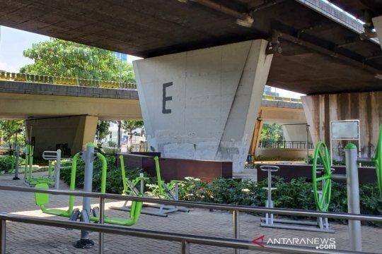 Tingkat vandalisme di taman kota Jakpus turun hingga 90 persen